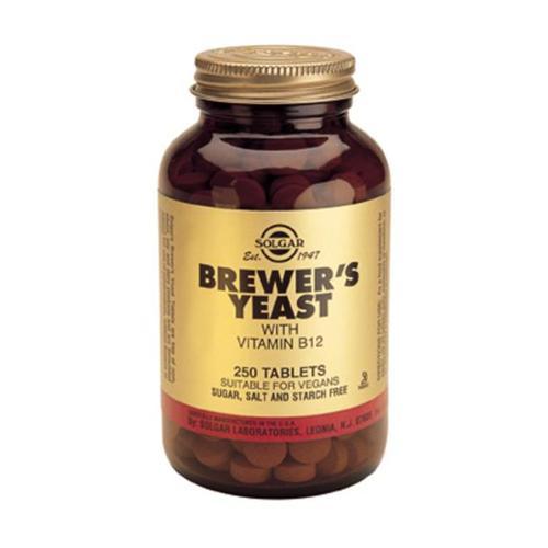 Solgar levadura de cerveza con vitamina b12 250 comprimidos - Alimentos con levadura de cerveza ...