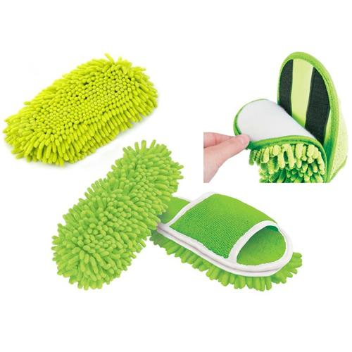 Zapatillas mopa for Abrillantar suelo porcelanico mate