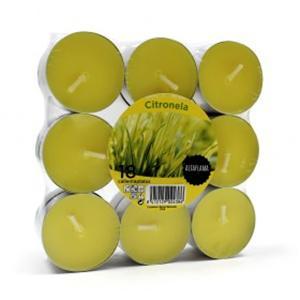 Velas citronelas anti mosquitos 18 unidades comprar for Velas anti mosquitos